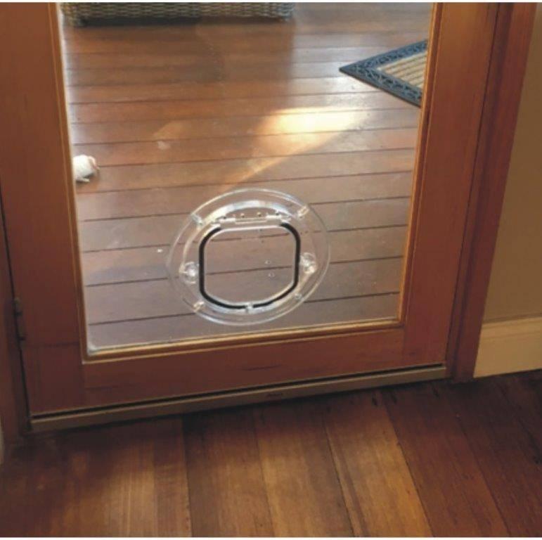 Standard Cat Door For Glass Supplied Installed Melbourne Pet Doors