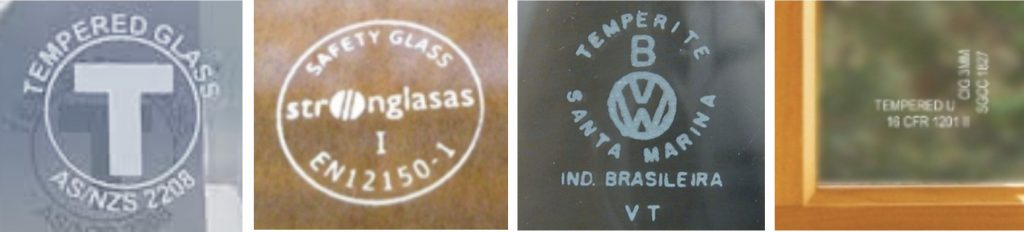 safety glass stamps